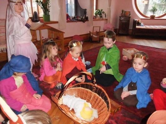 Děti a vánoční mystérium
