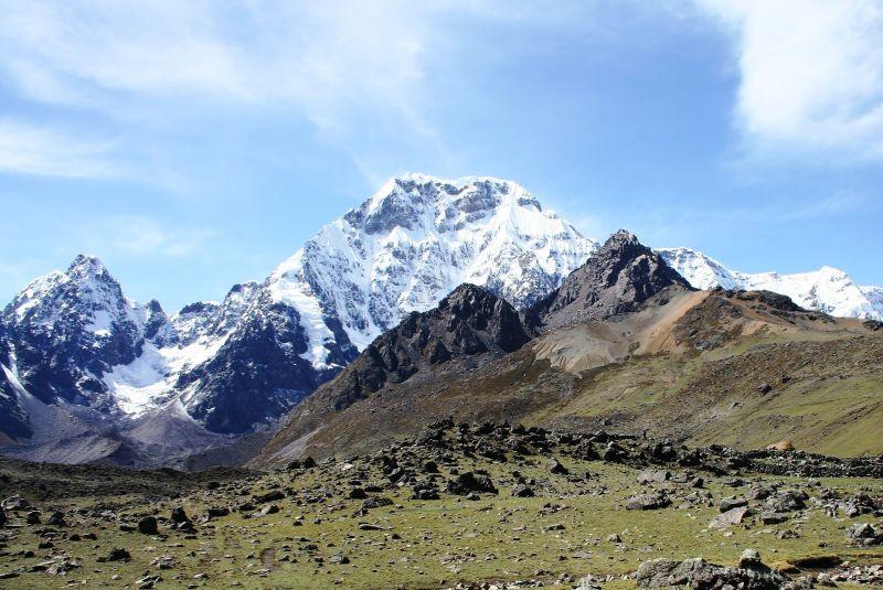 Posvátná hora Ausangate.