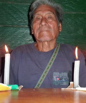 Peruánský šaman Don Ignácio.