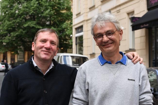Libor a Petr, dva putující Prahou :-)