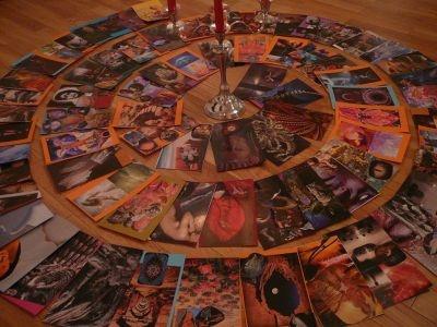 Čím víc karet-střípků sebe sama, tím jasnější obraz - karty vyrobené metodou SoulCollage.