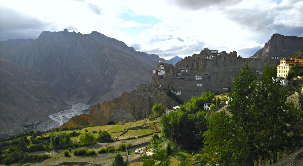 Pohled na oblast Himachal Pradesh.