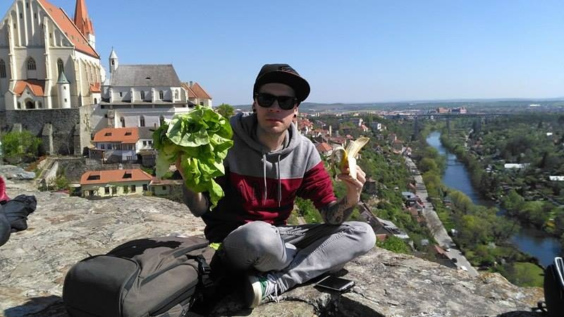 Lukáš se zajímá o zdravou stravu a máte šanci ho potkat i v restauraci Maitrea ;-)