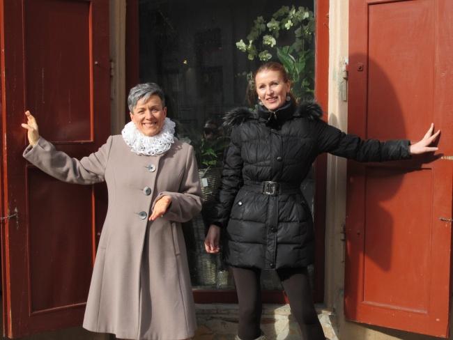 Irena (vlevo) a Jasmína