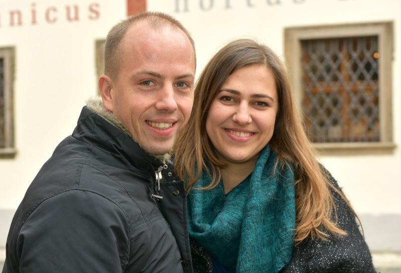 Petr Koch a Lucie Němcová