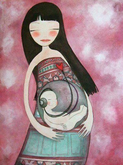 Už v těhotenství se buduje pevné pouto.