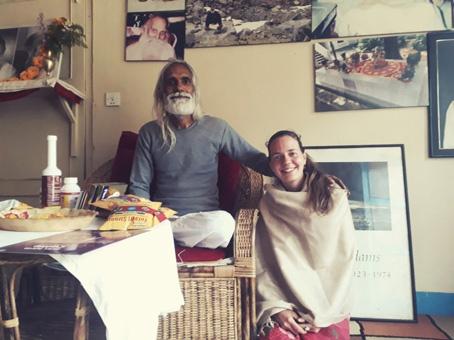 Swámí Ramchandra Das pravidelně pořádá duchovní setkání i ve Francii.