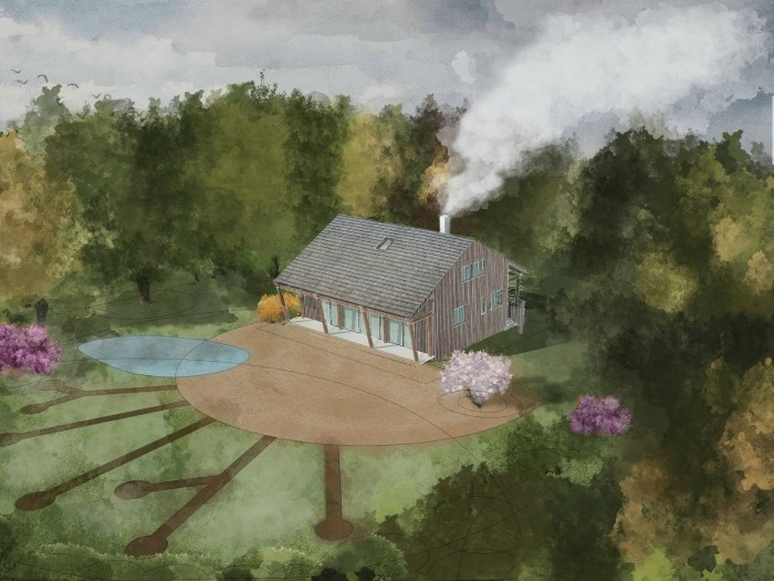 Dům a zahrada tvoří přirozený celek